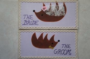 Pancartes mariés