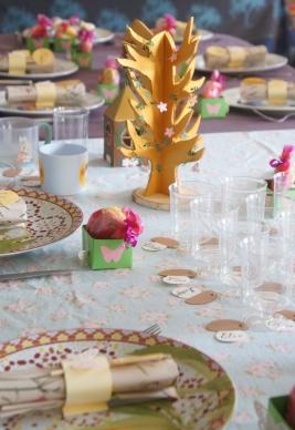 table anniversaire fée 4